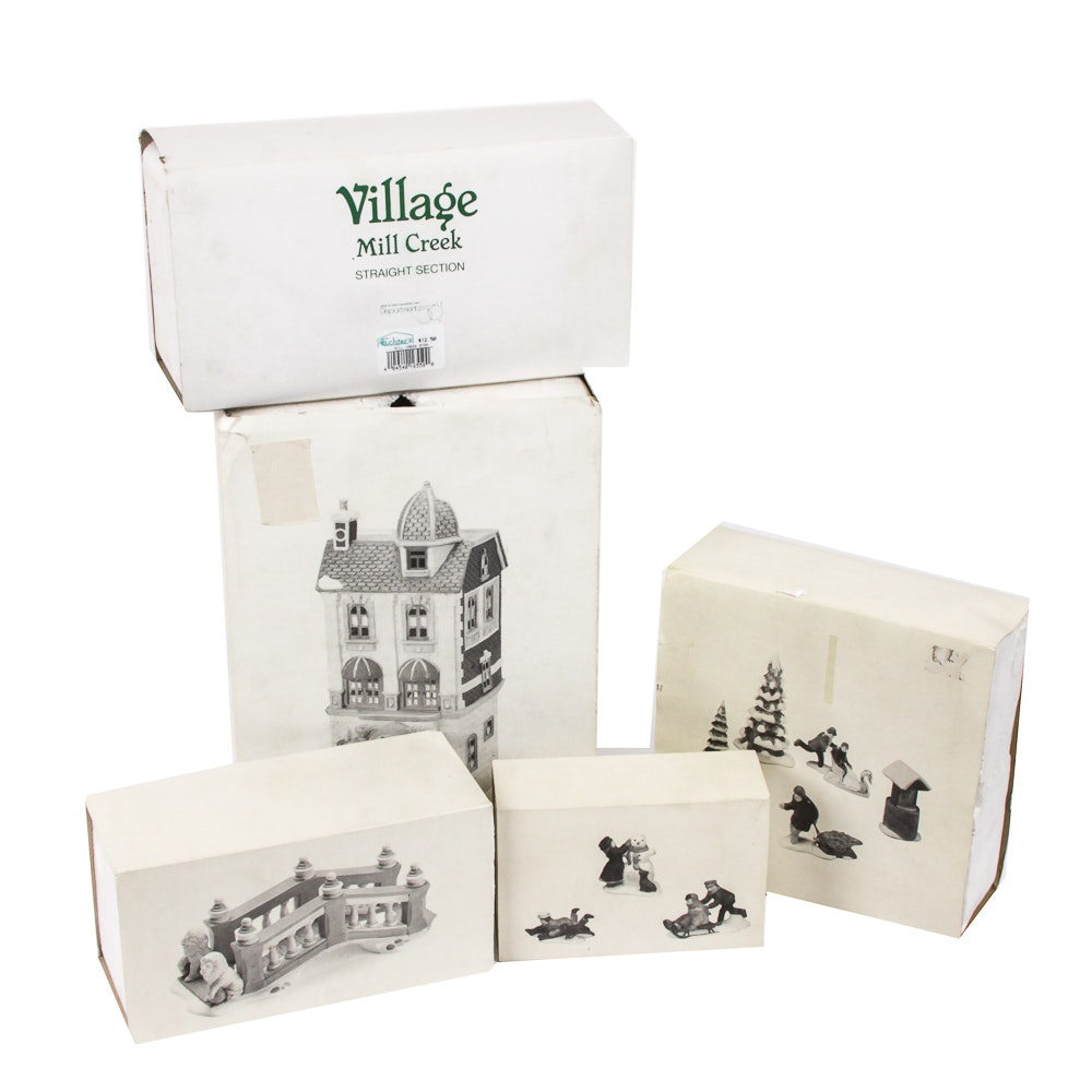 """Heritage Village"" Decor Buildings from Department 56"