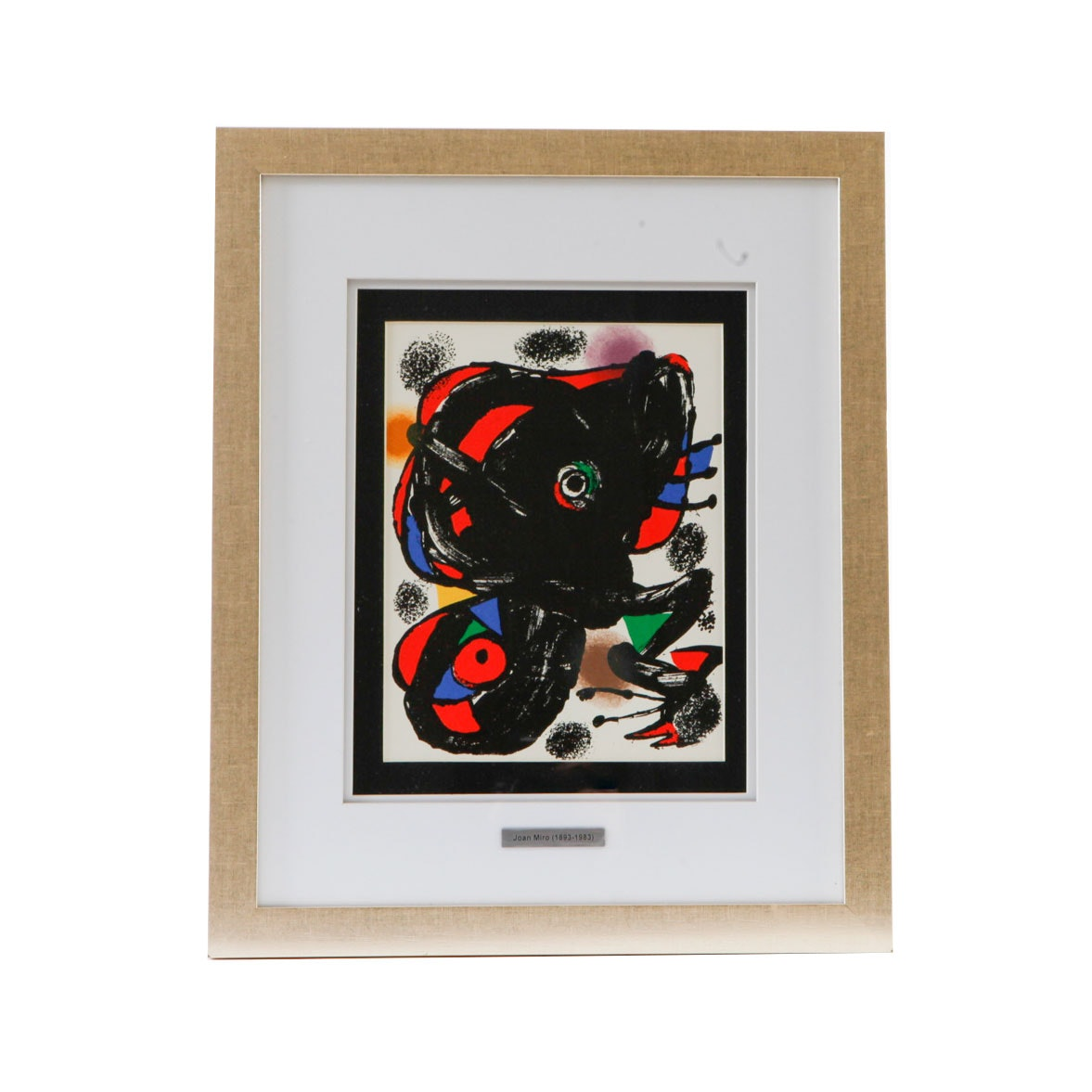 """Joan Miró 1976 Color Lithograph from """"XXe Siecle"""""""