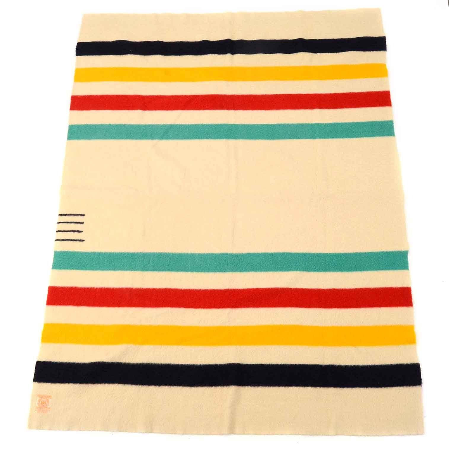 Vintage Hudson's Bay Company Point Blanket