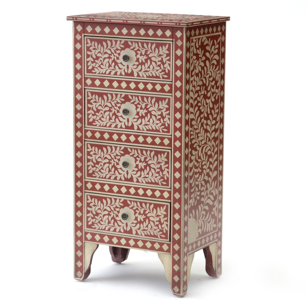 Folk Style Chest of Drawers