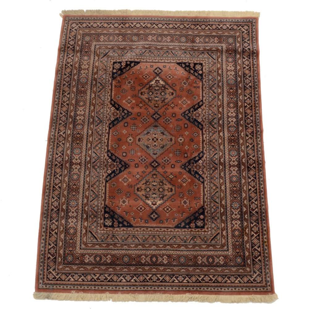 Machine-Made Tribal-Inspired Serab Style Wool Area Rug