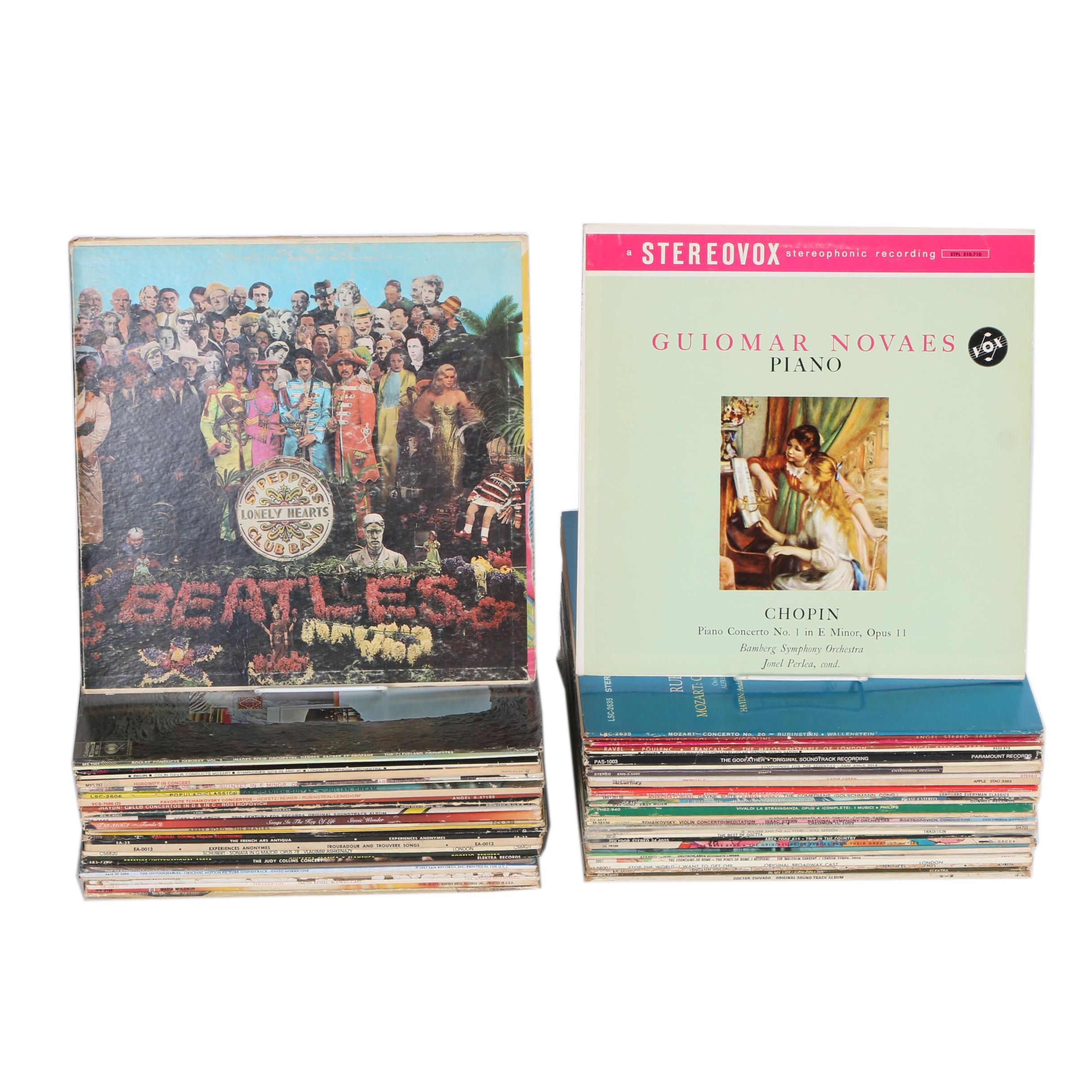 The Beatles, Ennio Morricone, Judy Collins And More Pop, Classical, Jazz, LPs