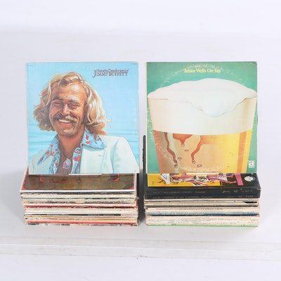 Grateful Dead, Junior Wells, Bach And More Classic Rock, Jazz, and Classical LPs