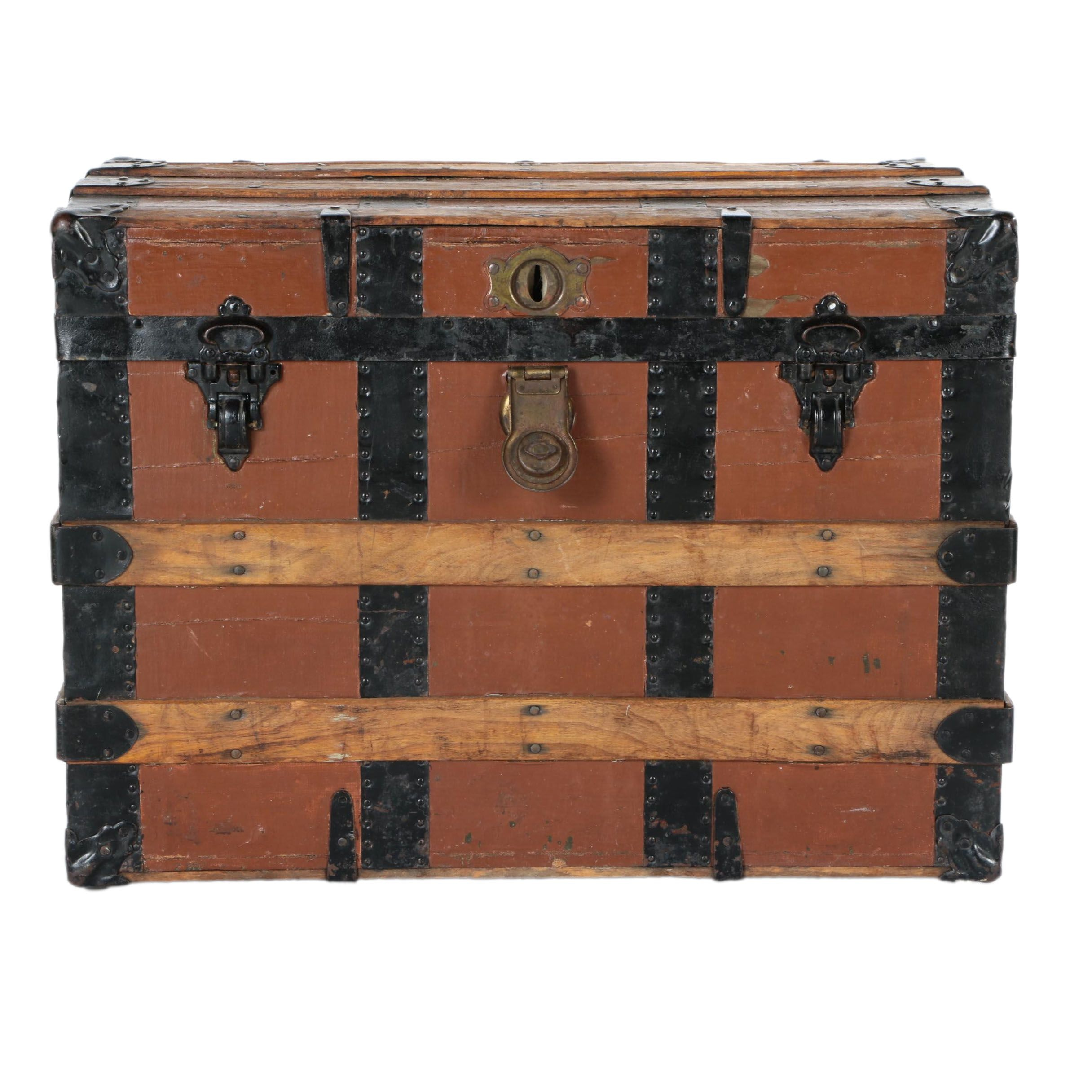 Vintage to Antique Travel Trunk