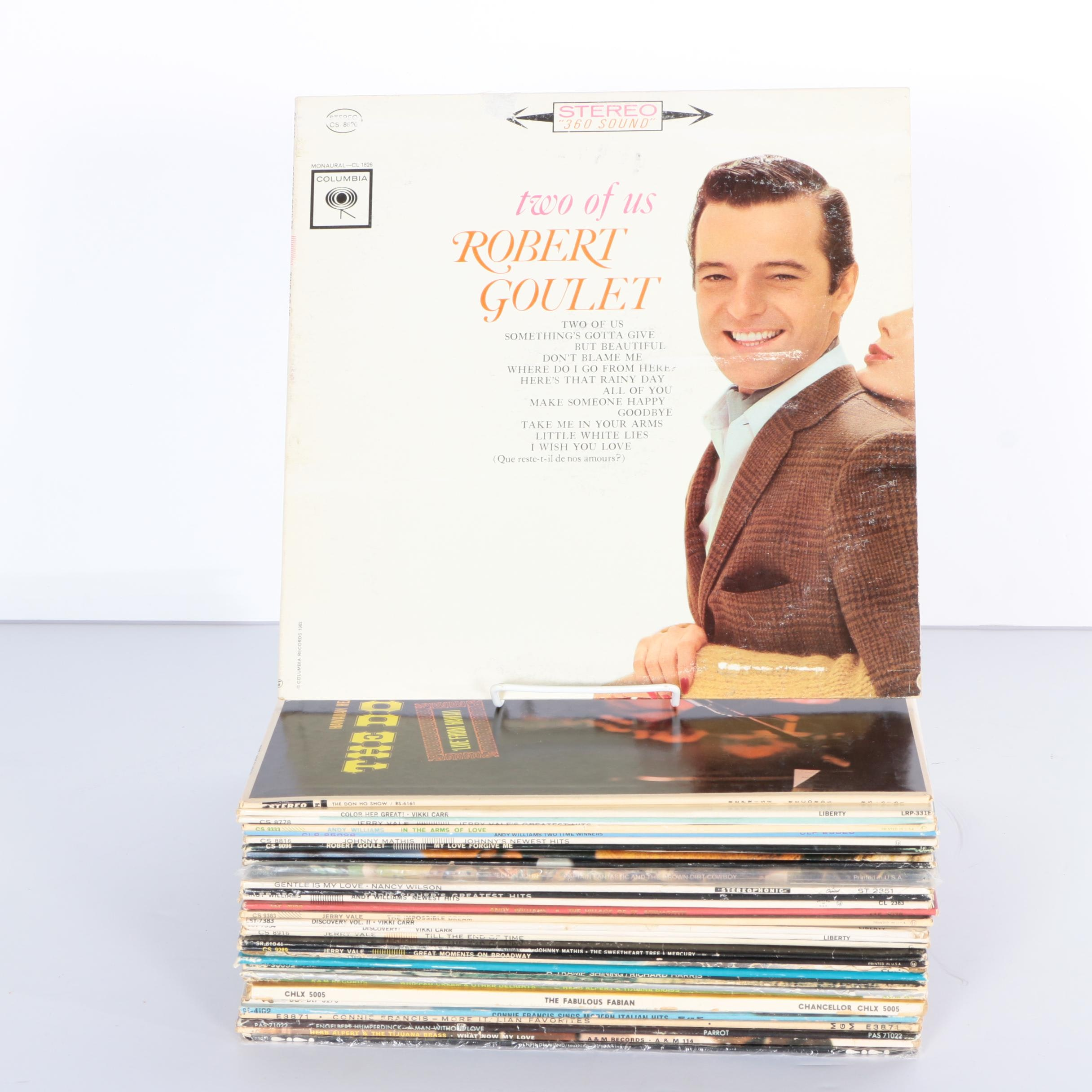 Elton John and Other Vocalist/Easy Listening LPs