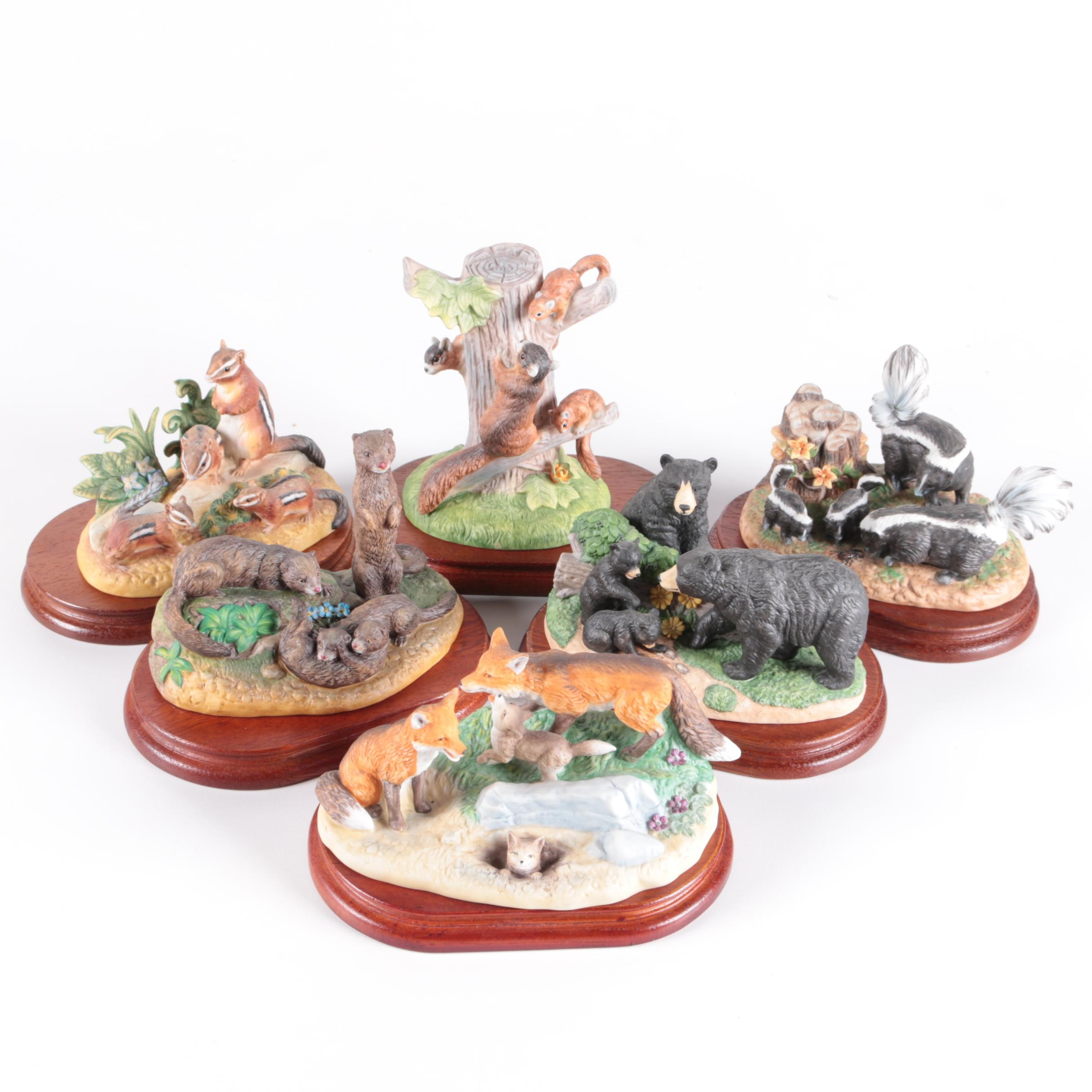 """Royal Windsor """"Southern Forest Families"""" Figurines"""