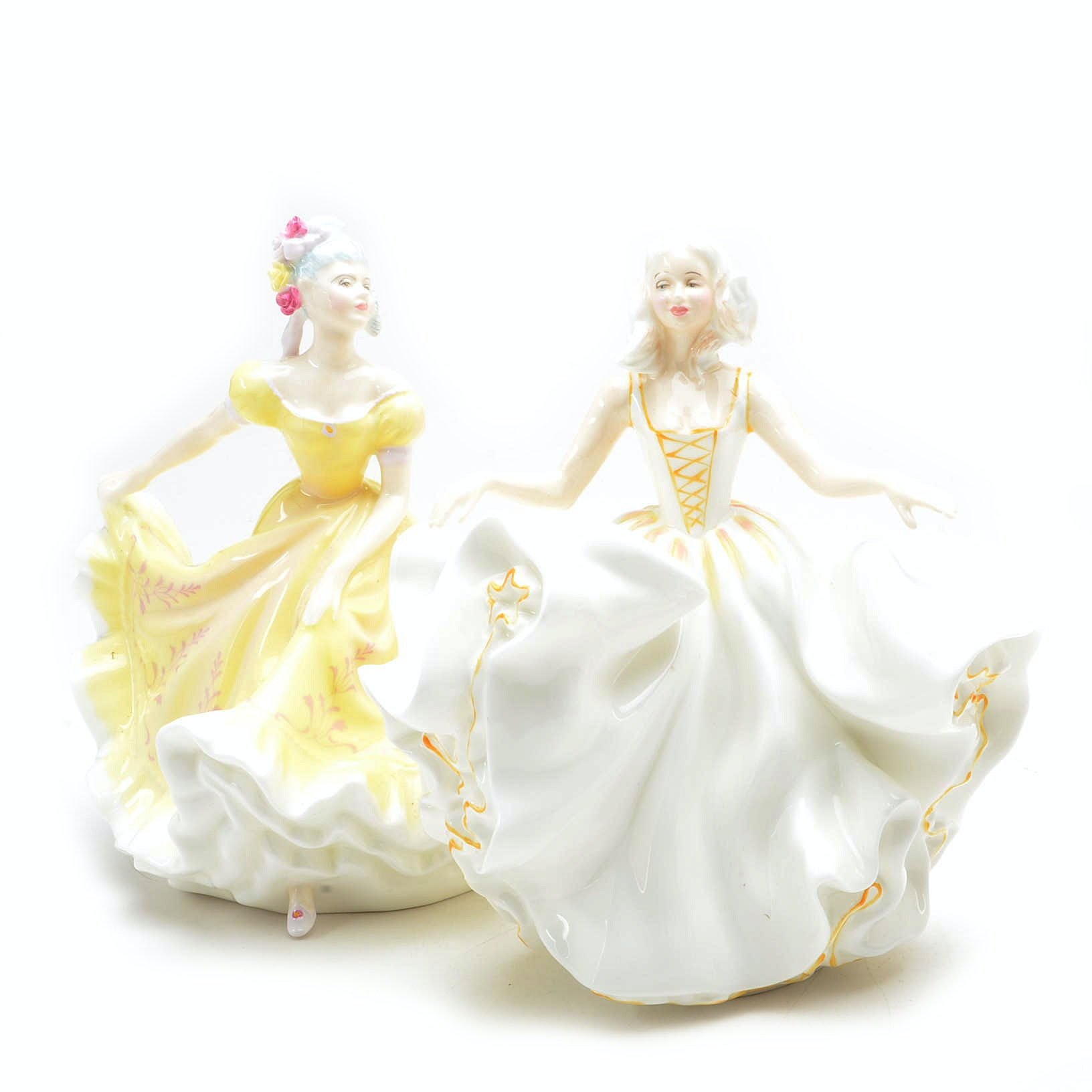"Royal Doulton ""Ninette"" and ""Sweet Seventeen"" Figurines"