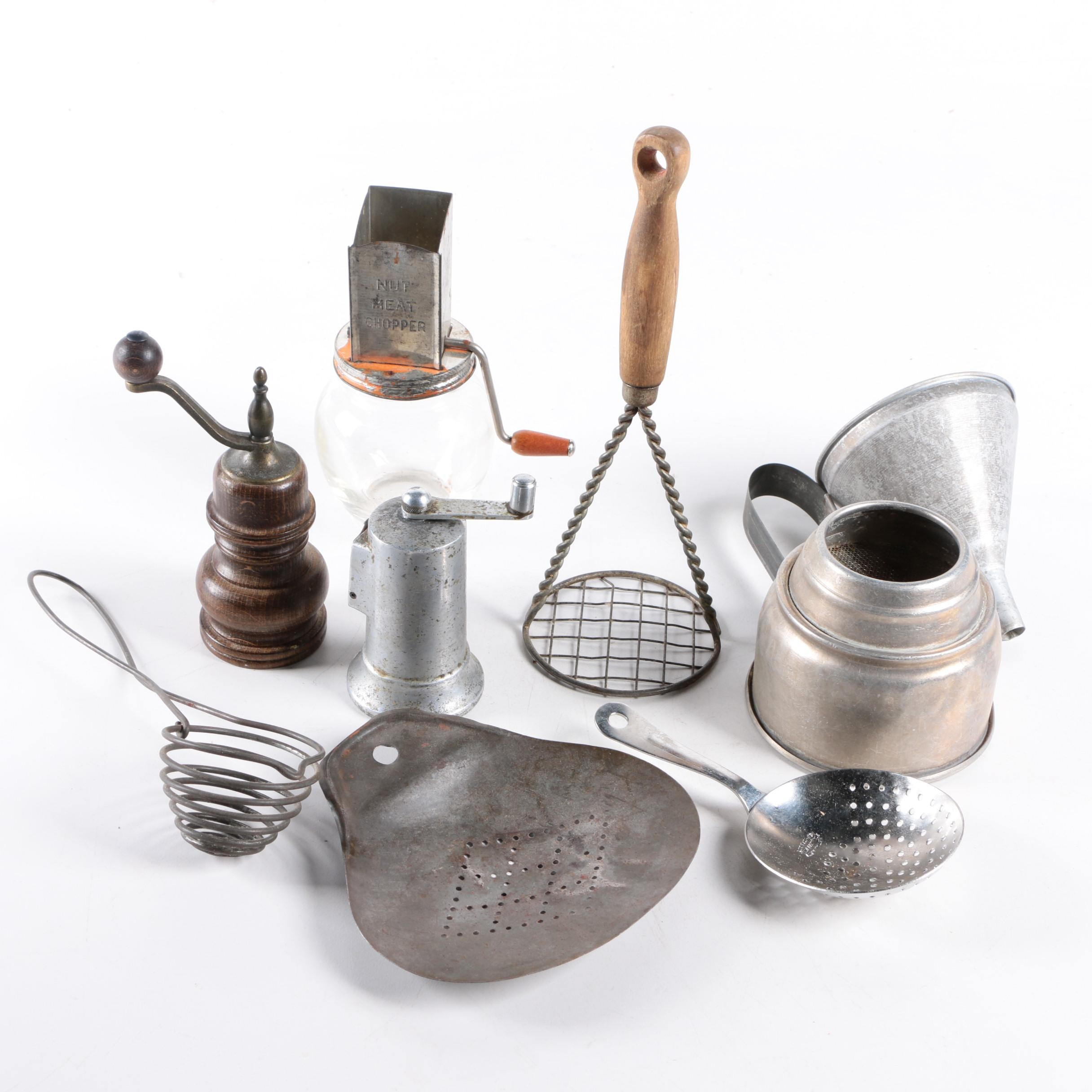 Beautiful Antique Kitchen Tools Images Gallery - Kitchen Cabinets ...