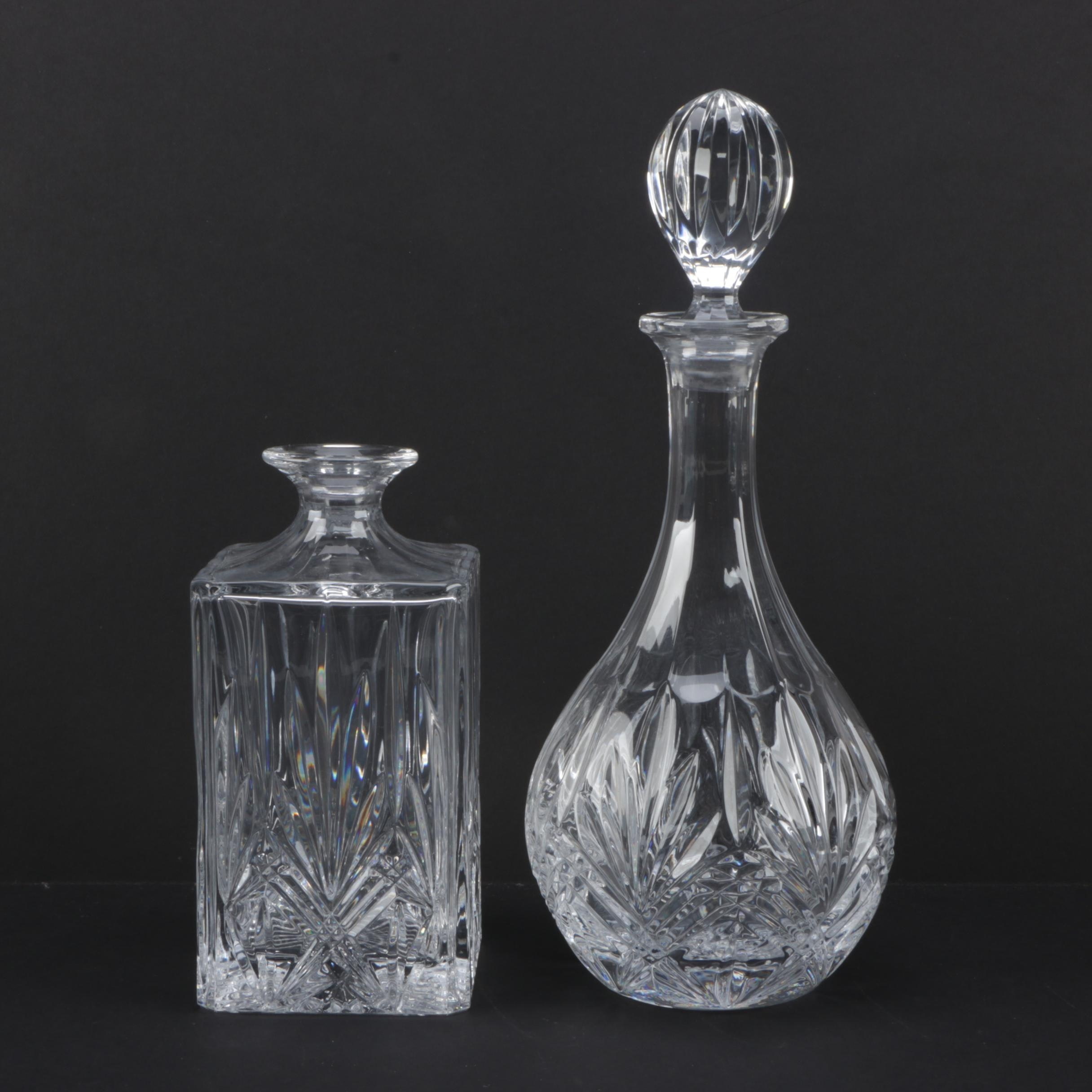 Imperial Estate Crystal Decanters