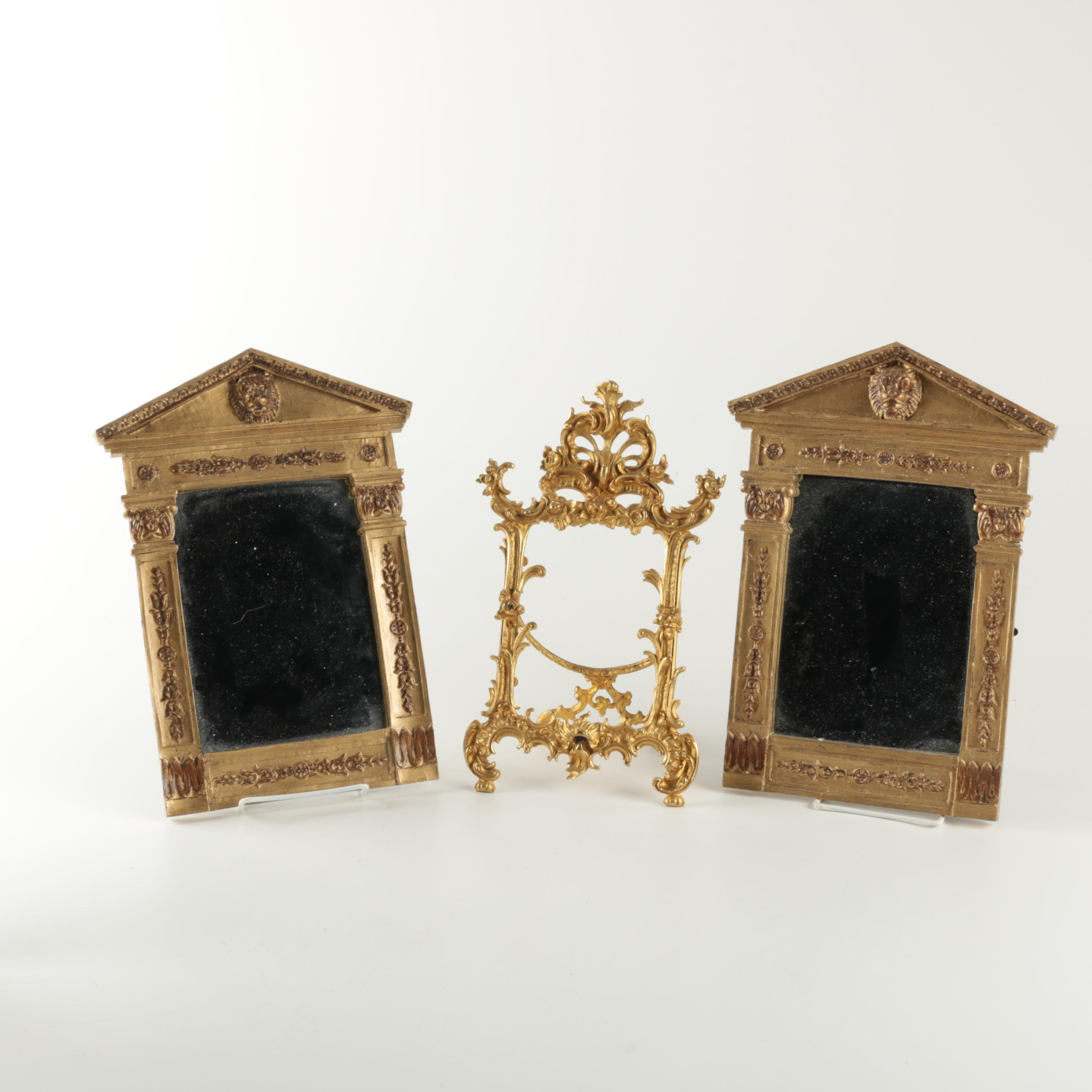 Neoclassical Style Wall Mirrors and Picture Frame