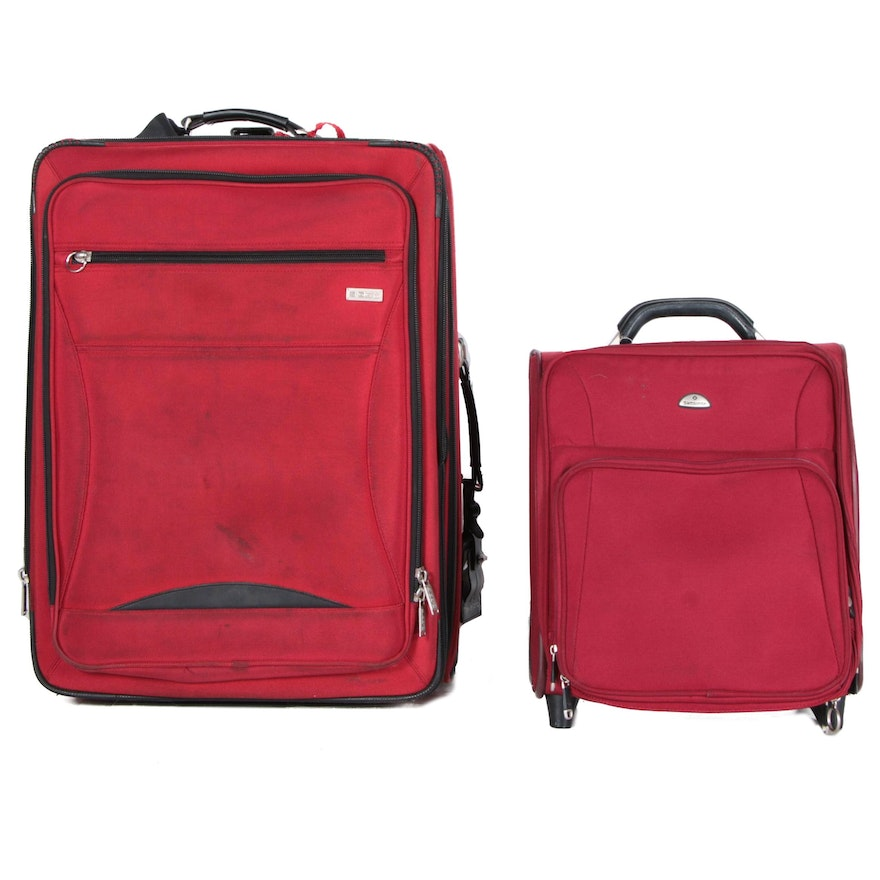 f9e589886735 Pair of Sigg Rolling Suitcases