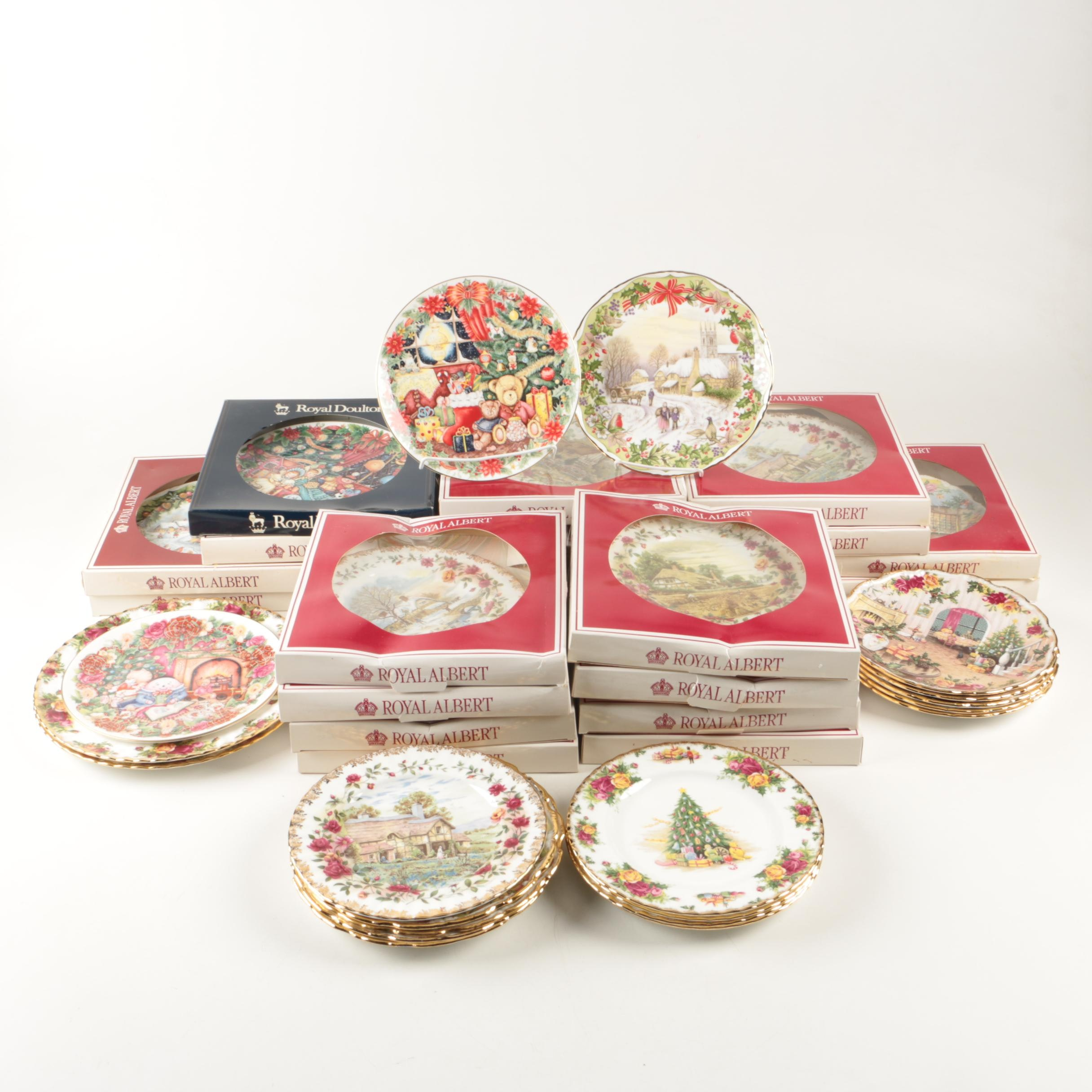 Royal Albert Decorative Plates