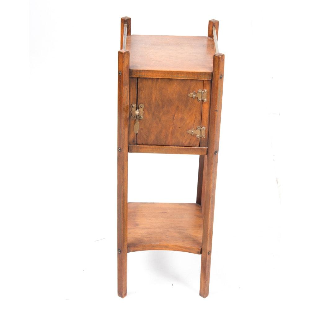 Vintage Craftsman Style Smoking Stand