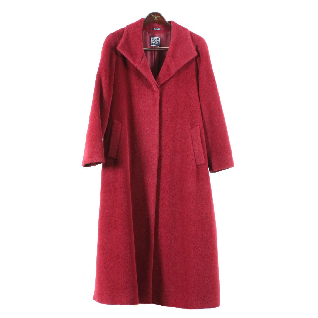 Women's Cinzia Rocca Llama Fur Coat
