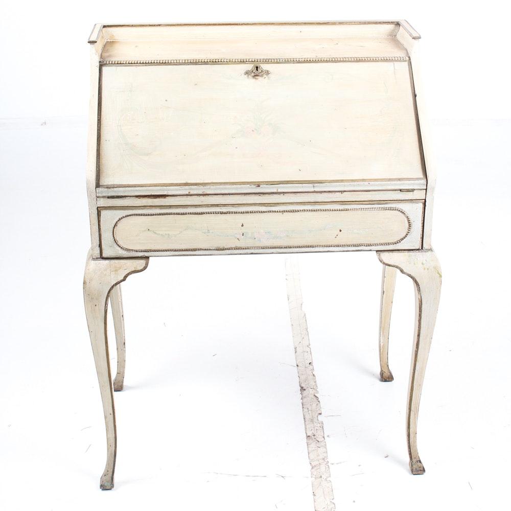 Vintage Painted Lady's Desk