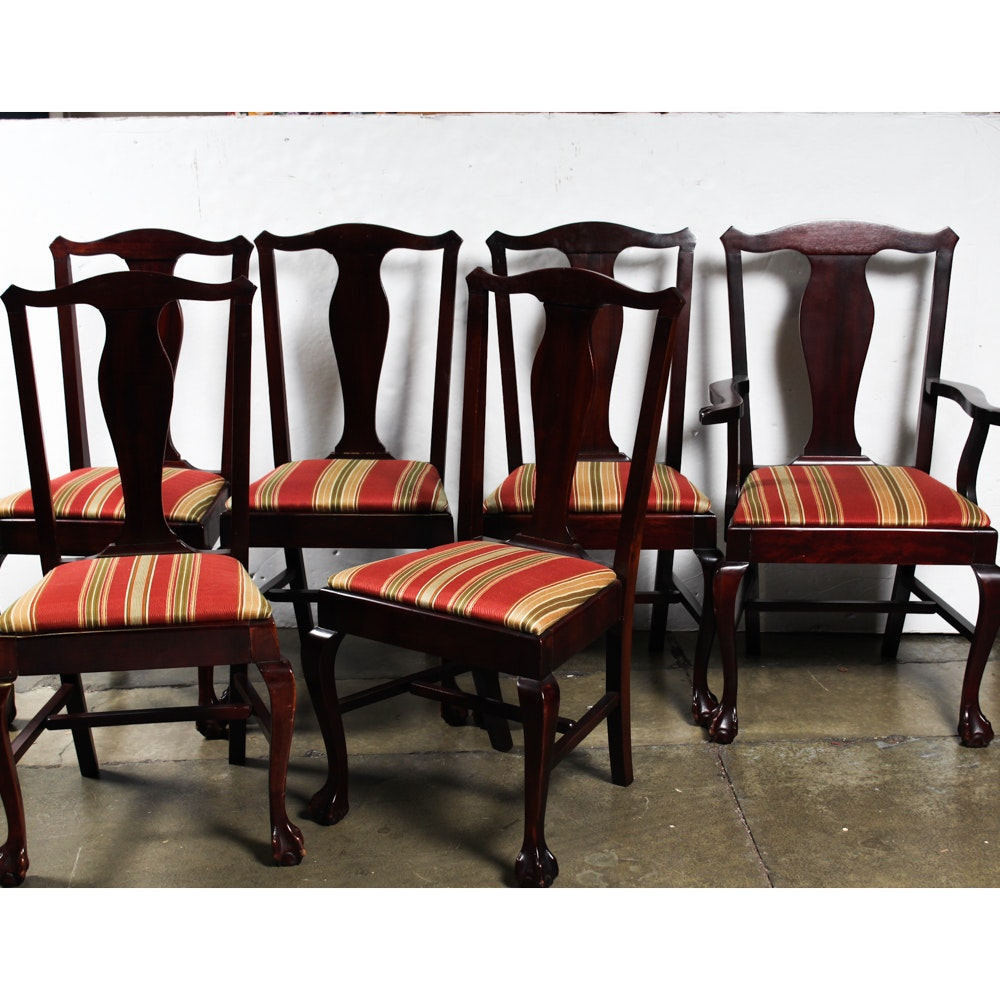 Vintage Mahogany Dining Chairs