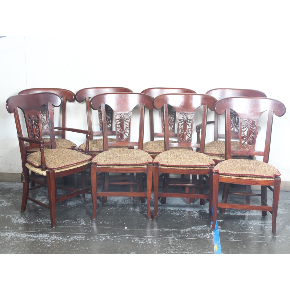 Slat Back Dining Chairs
