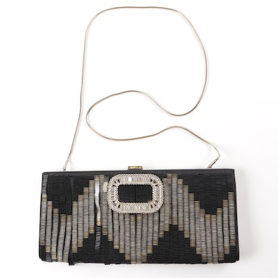 Roger Vivier Beaded Evening Clutch