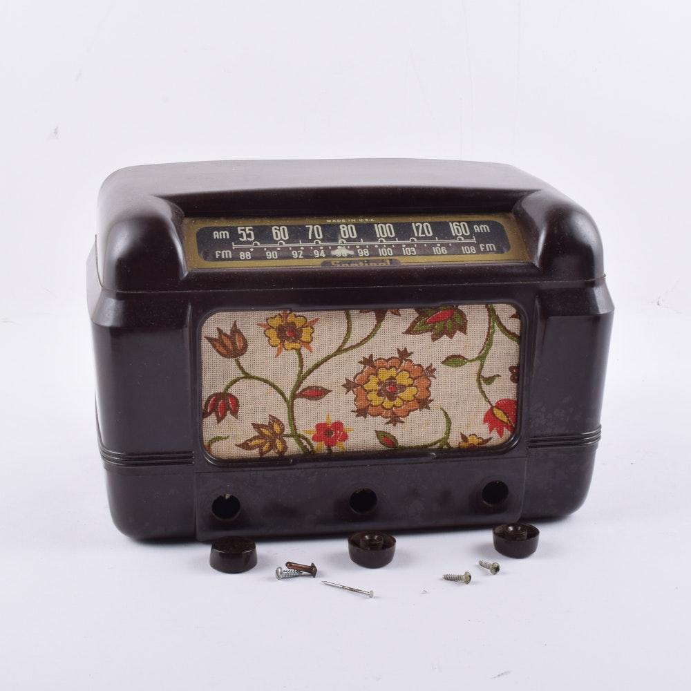 Vintage Sentinel Radio