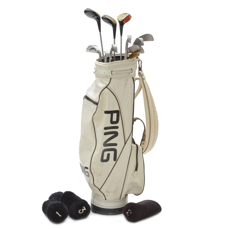 Al Lopez S Personal Ping Golf Clubs With Bag
