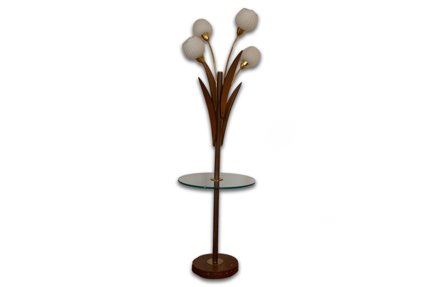 Mid Century Modern Tray Table Floor Lamp EBTH