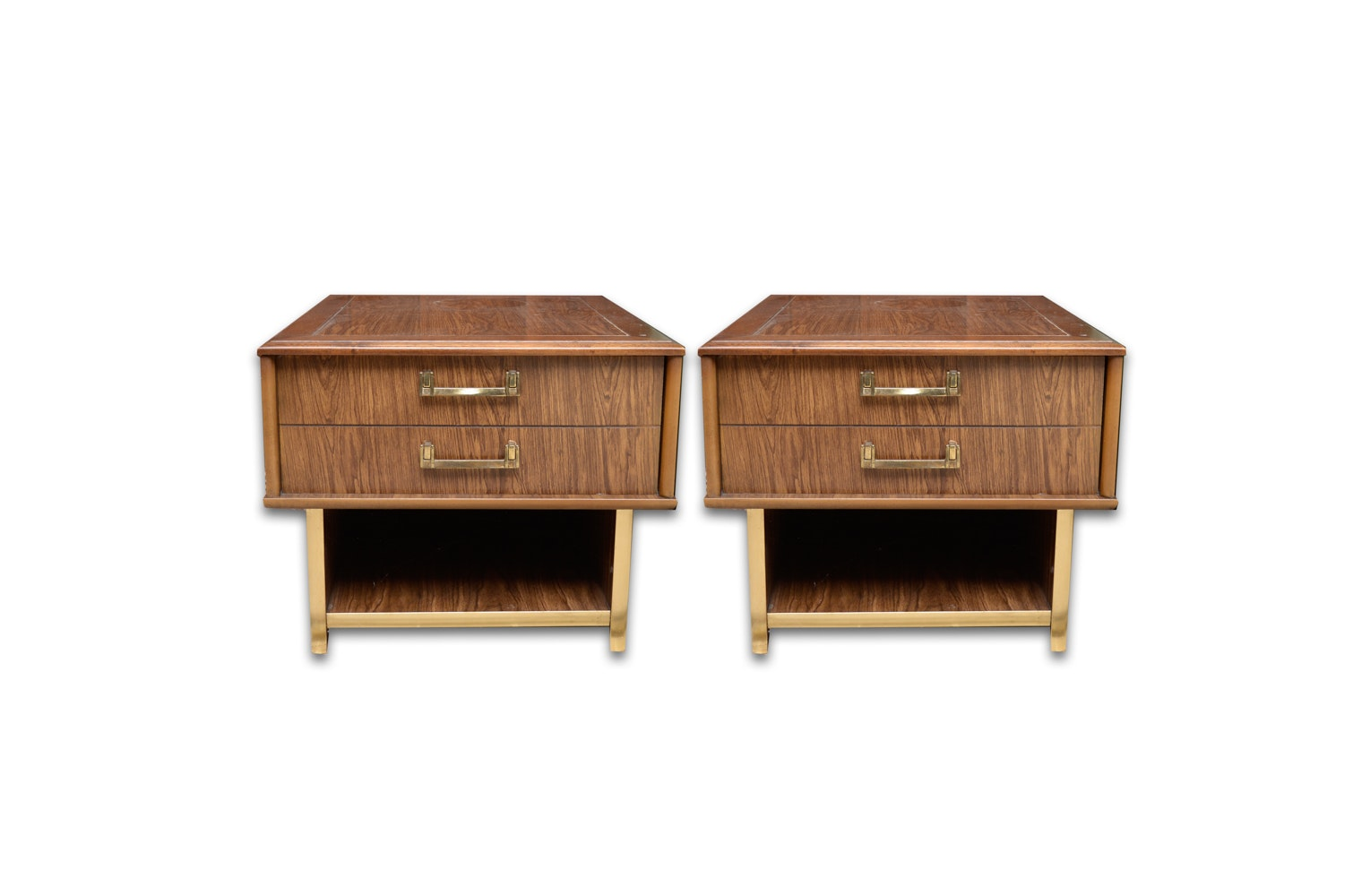 Mid Century Modern Laminate End Tables
