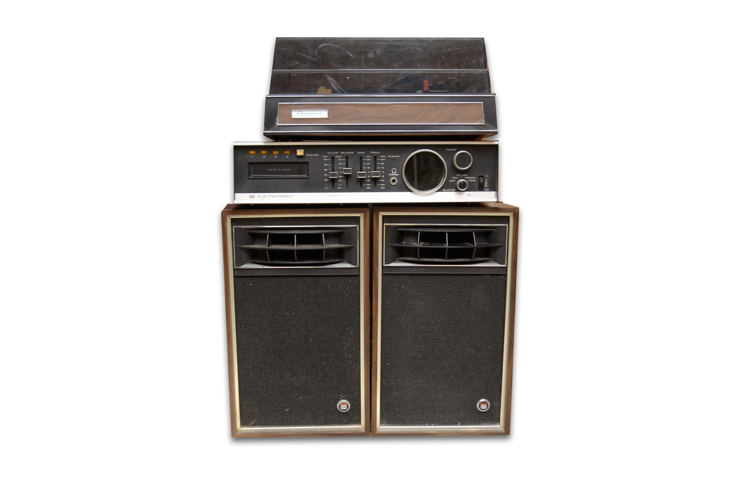 Vintage Electrophonic Stereo System