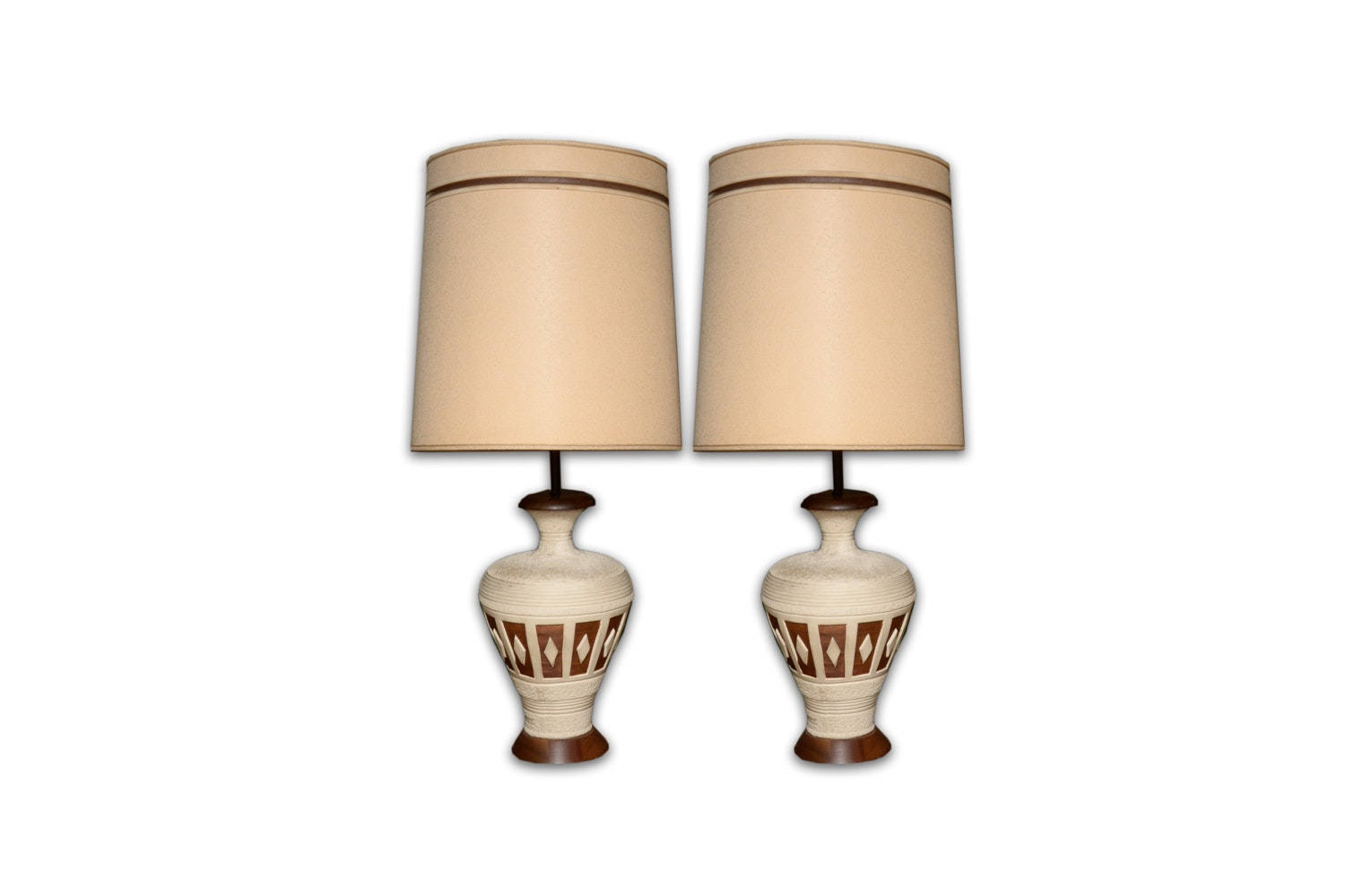 Vintage Ceramic Table Lamps ...