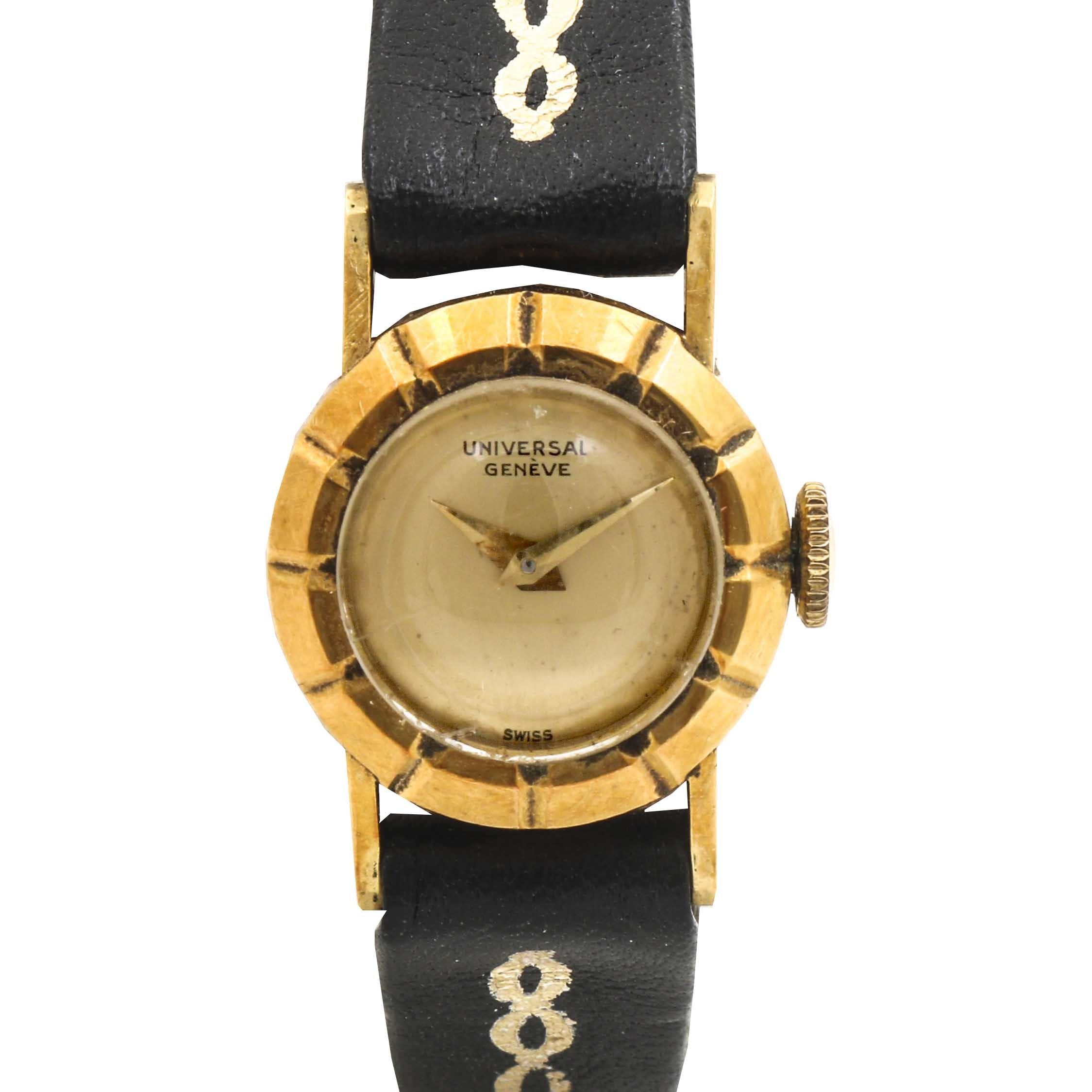 Universal Geneve 18K Yellow Gold Wristwatch