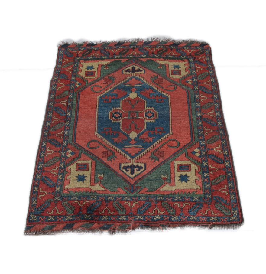 Hand-Knotted Anatolian Wool Area Rug