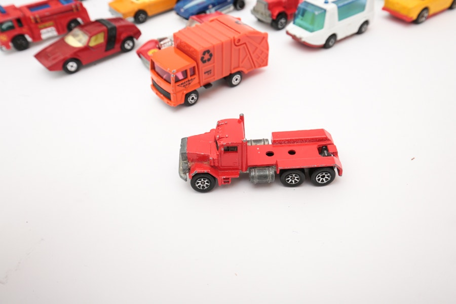 Collection of Hot Wheels from the 1970's