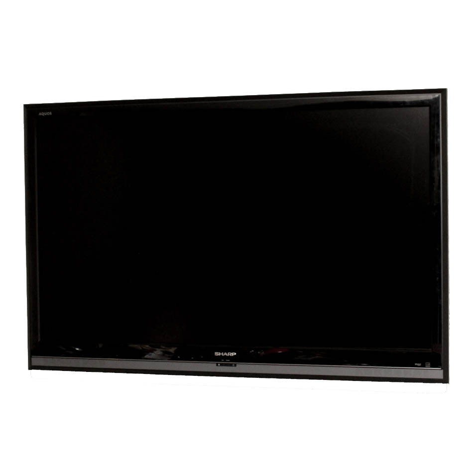 """Sharp Aquos 52"""" LCD HDTV Flat Screen Television with Mount"""