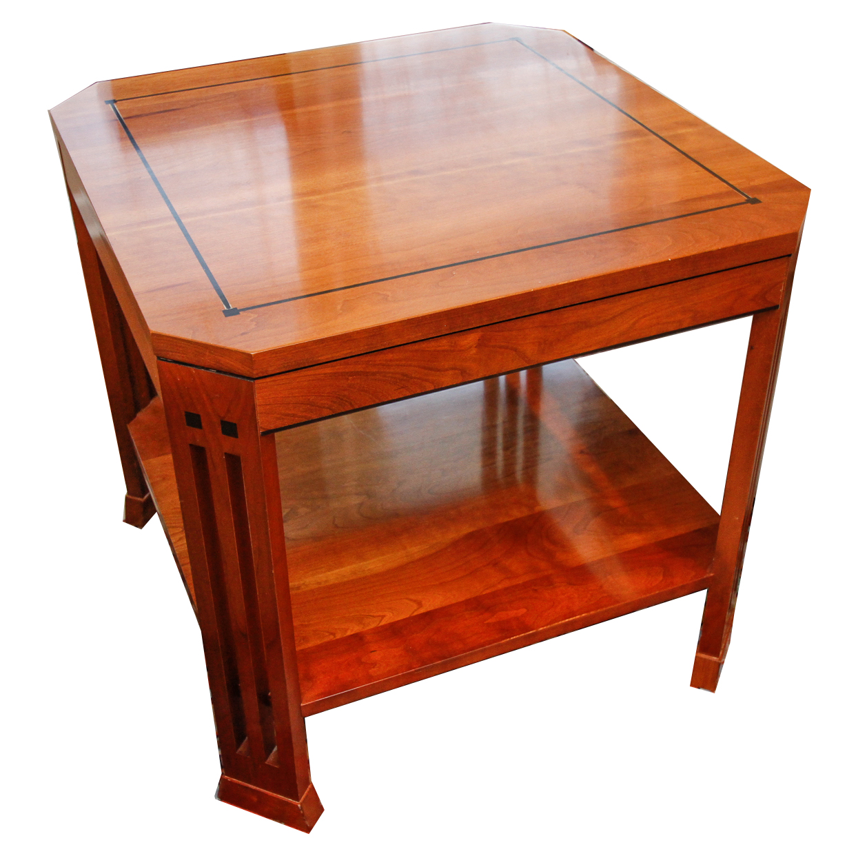 Stickley Furniture 21st Century Mission Cherry Side Table EBTH