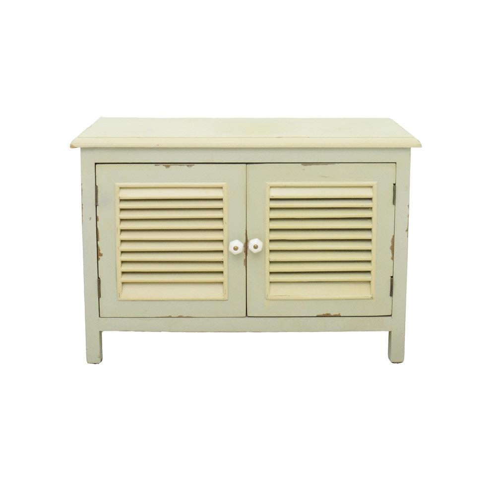 Small Shutter Door Cabinet
