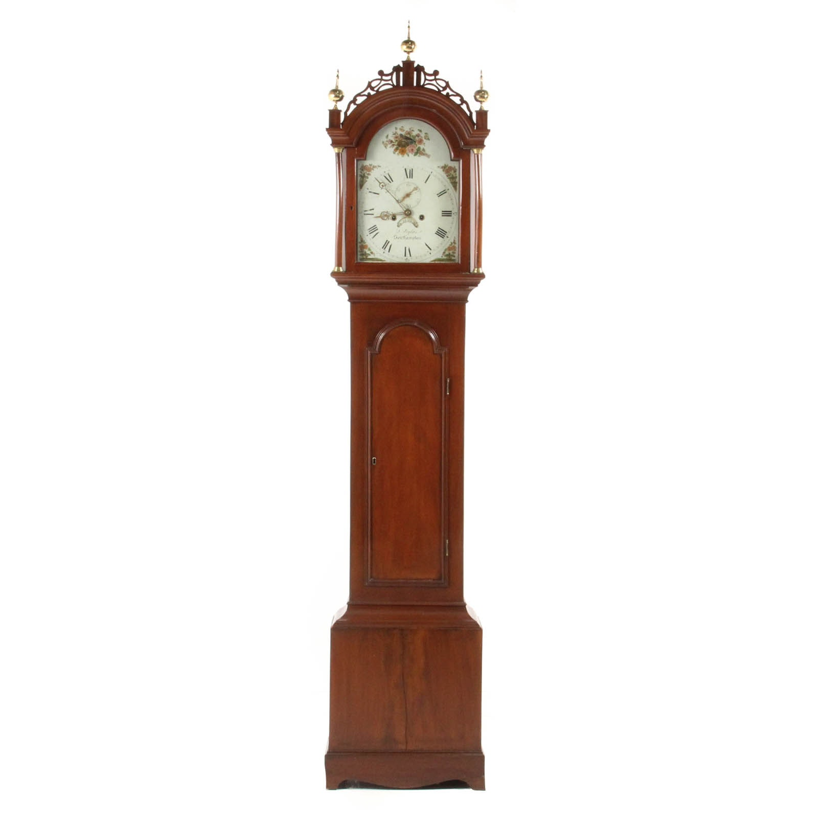 Antique Federal Tall Case Clock