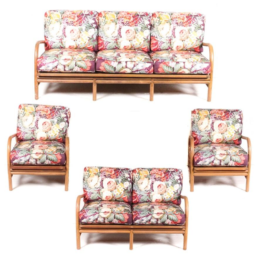 Pleasant Vintage Bamboo Patio Furniture Interior Design Ideas Apansoteloinfo