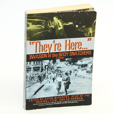 """Signed """"They're Here... Invasion of Body Snatchers: A Tribute"""" by Kevin McCarthy"""