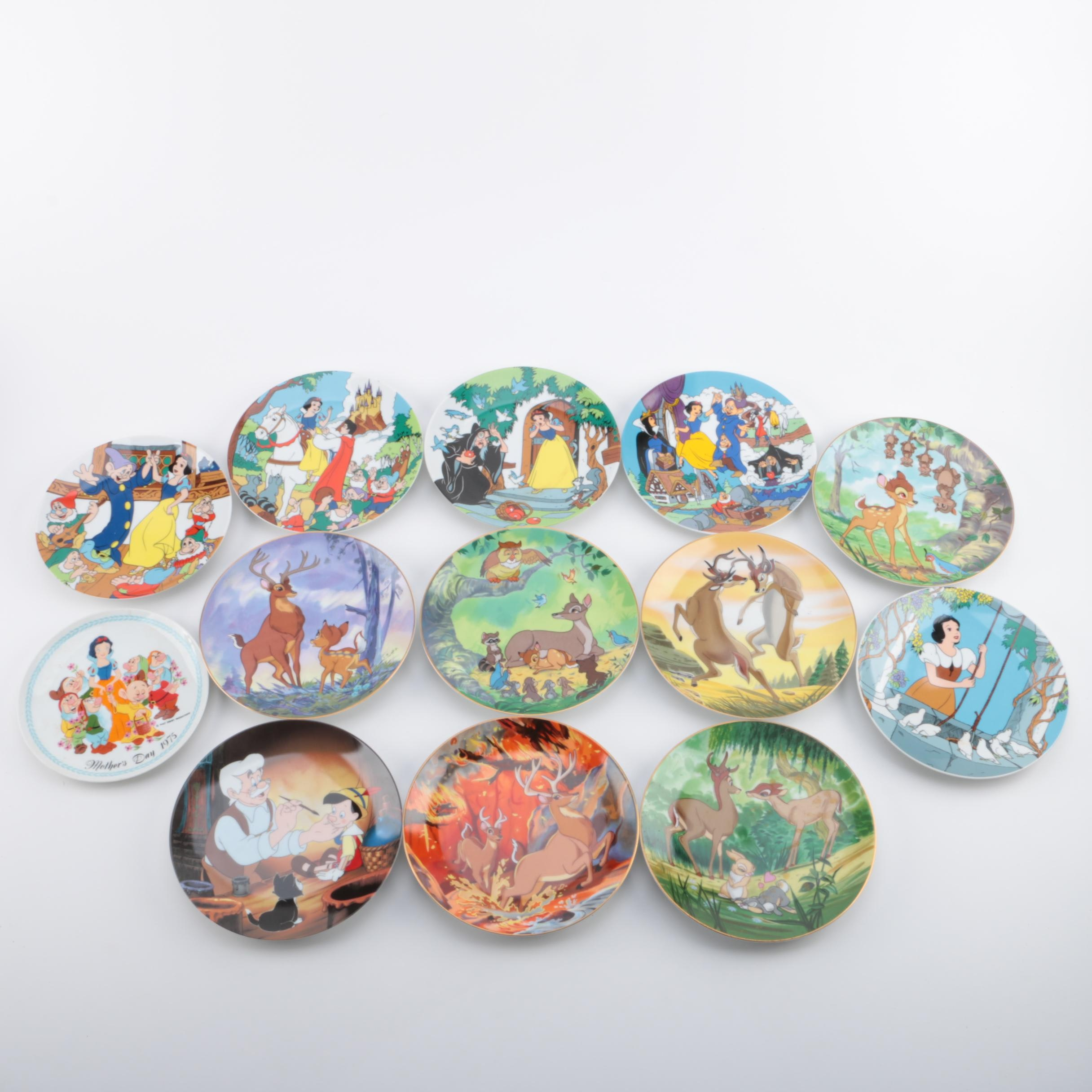 "Limited Edition ""The Disney Collection"" Porcelain Collector Plates"
