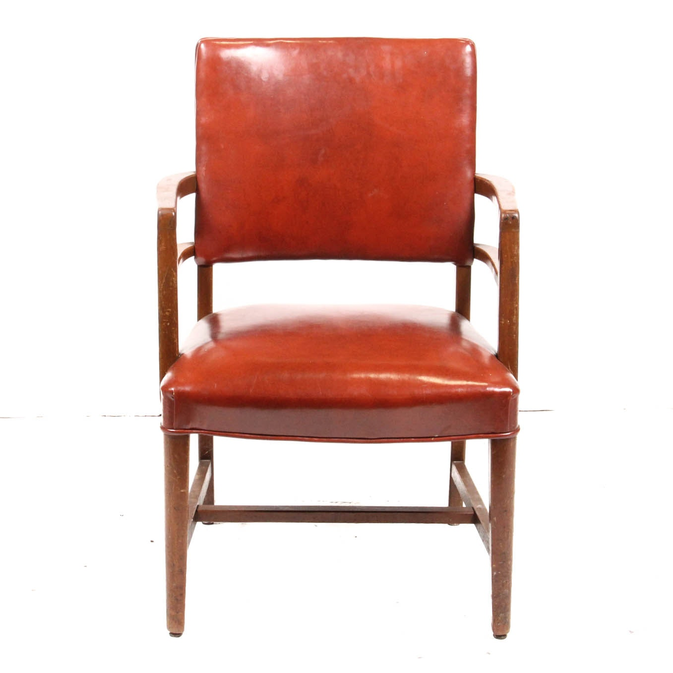 Vintage Jasper Chair Co. Faux Leather Chair