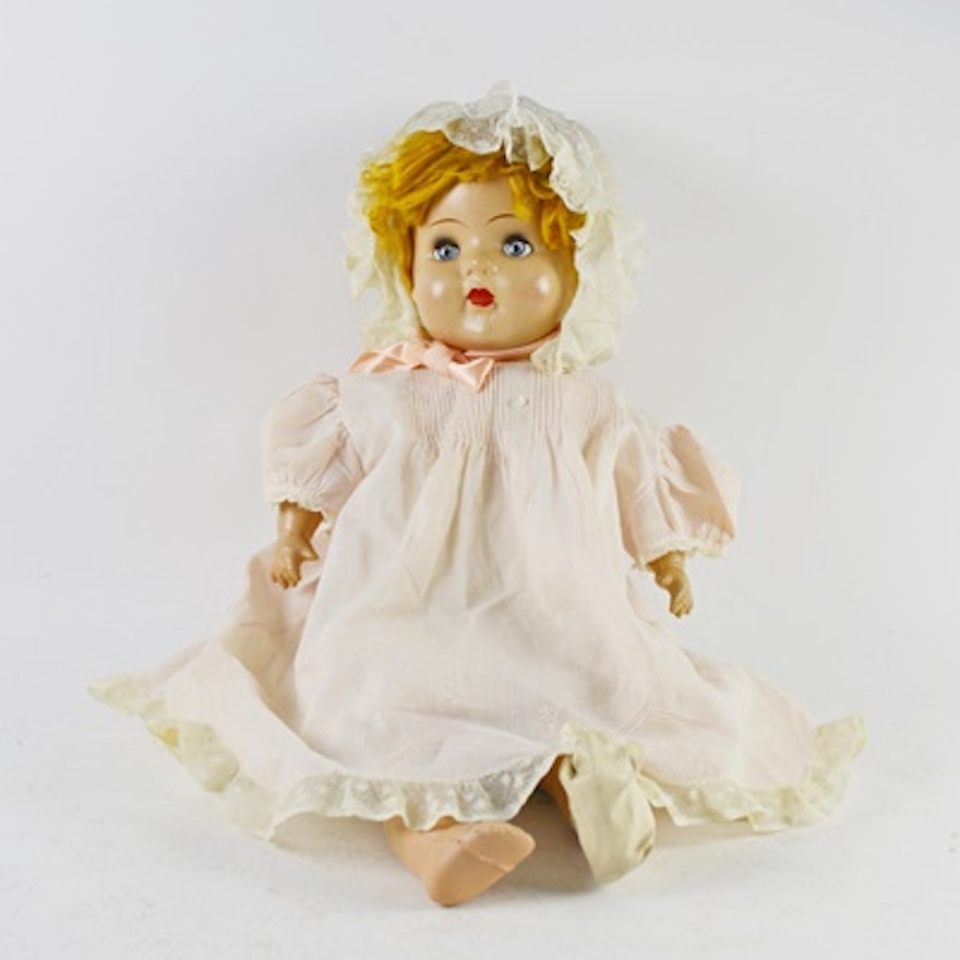 Vintage M&S Shillman Composition Doll