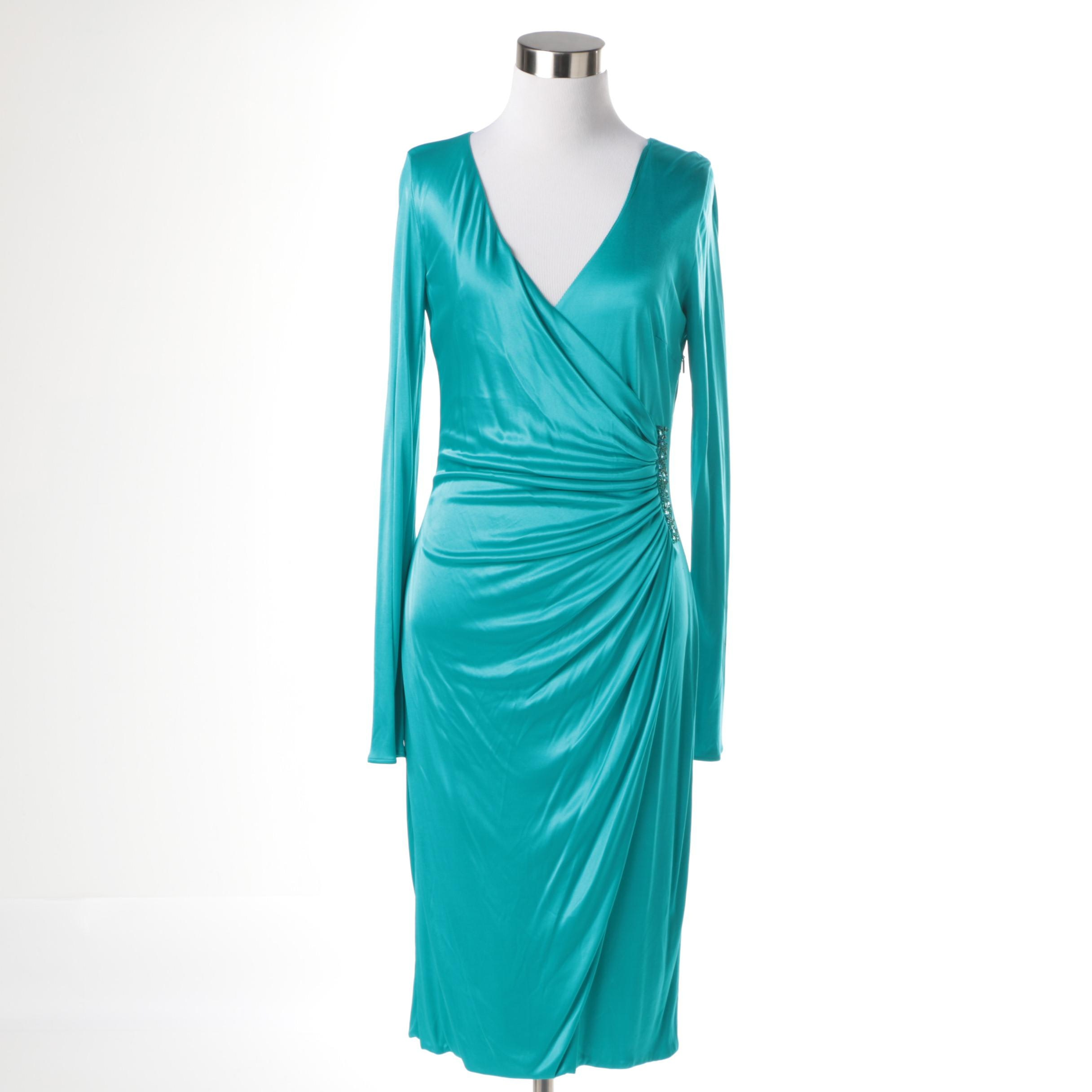 Versace Abito Donna-Ricamo Cocktail Dress