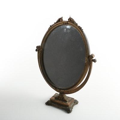 Antique Gold Gilt Vanity Mirror