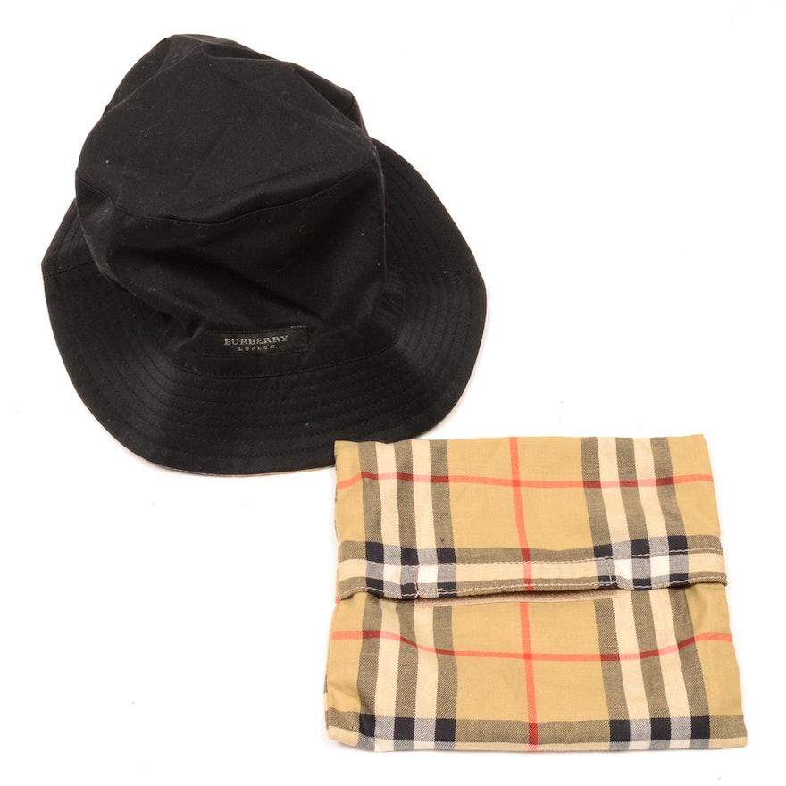 Children s Burberry Reversible Hat   EBTH d44bcd6b231