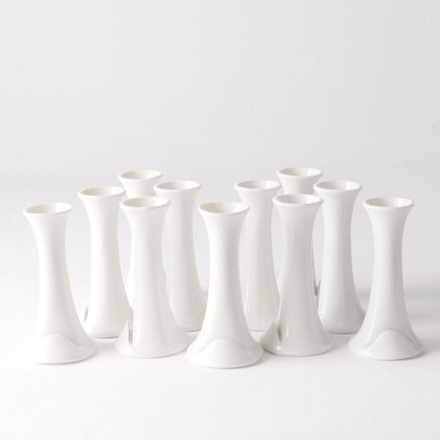 Ceramic Bud Vase Place Card Holders Ebth