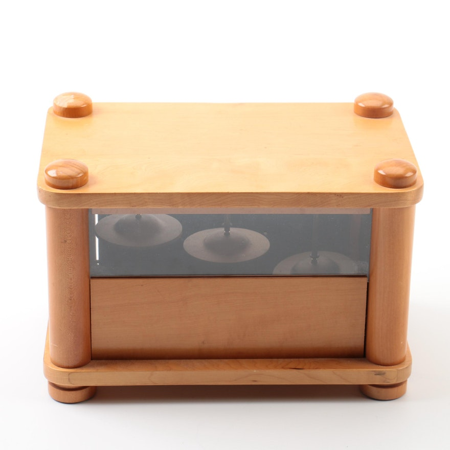 Falling Rain Wooden Chime Style Music Box