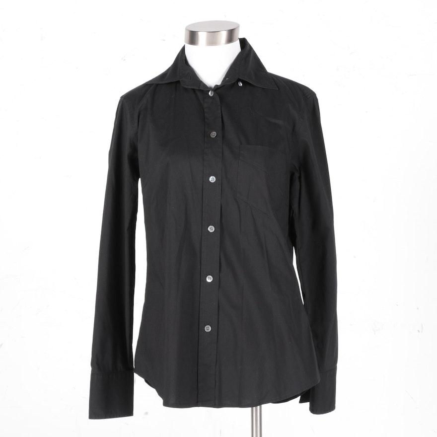 b95af2fb8 Women's J. Crew Black Button Down Shirt : EBTH