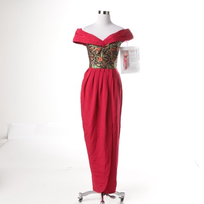 Vintage Jennifer Bawden Evening Gown
