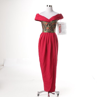 Vintage Jennifer Bawden Evening Gown
