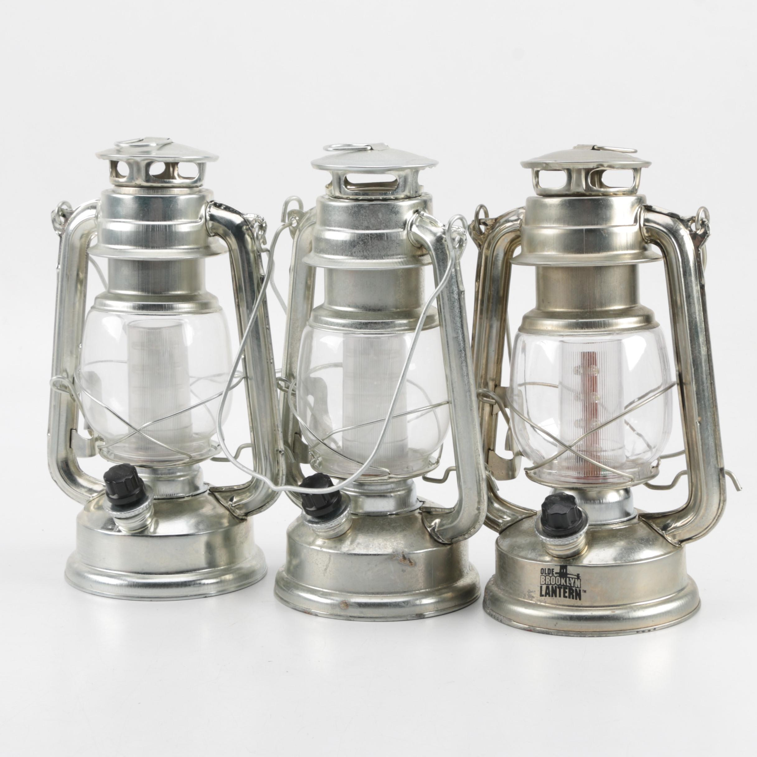 "Battery Operated LED ""Olde Brooklyn Lanterns"""