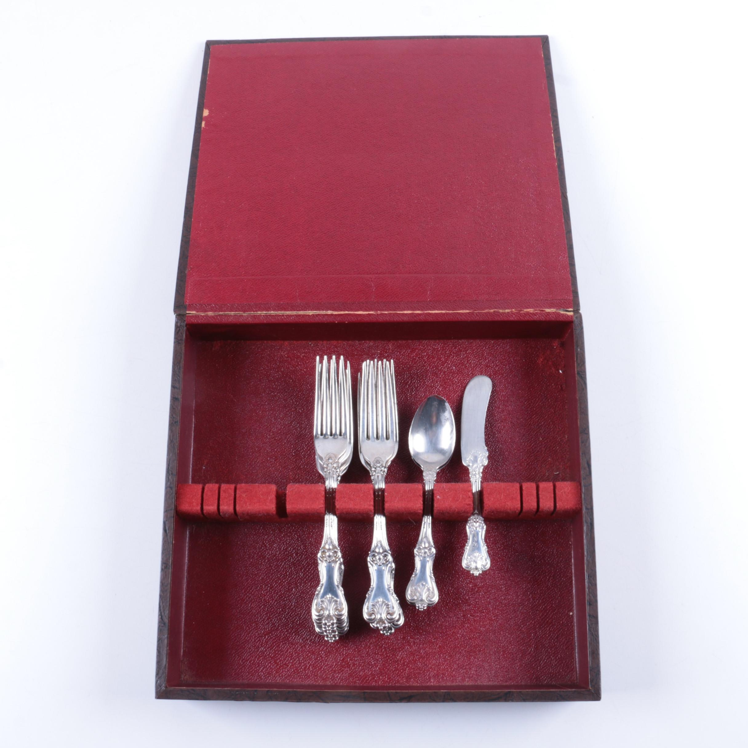 "Frank W. Smith Silver Co. ""Federal Cotillion"" Sterling Silver Flatware"